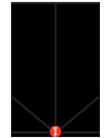 Diagrama Kata Heian Shodan