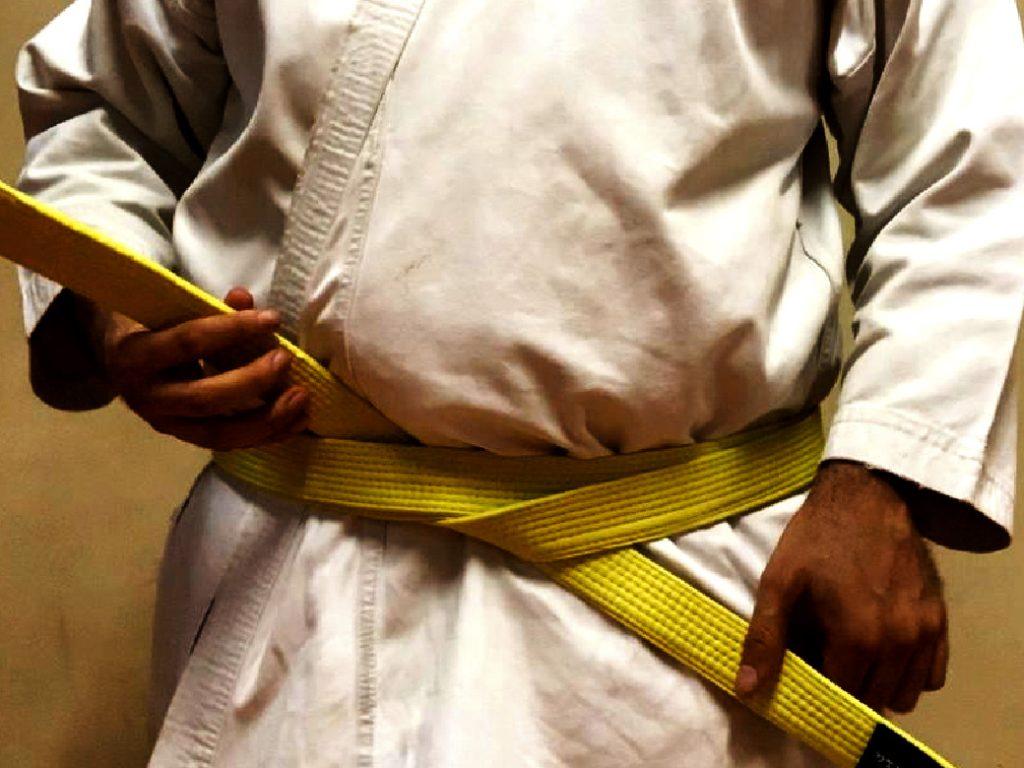 Como Amarrar a Faixa do Karate