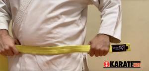 Como Amarrar a Faixa do Karate Parte 01