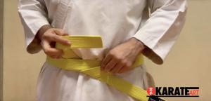 Como Amarrar a Faixa do Karate Parte 12