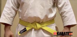 Como Amarrar a Faixa do Karate Parte 18